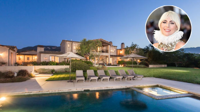 Lady Gaga\'s Malibu Mansion