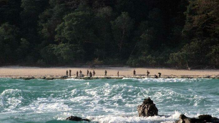 1.Wyspa North Sentinel, Indie