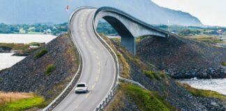 Storseisundet Bridge, Norway