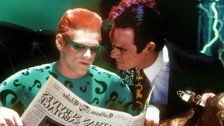 Jim Carrey a Tommy Lee Jones