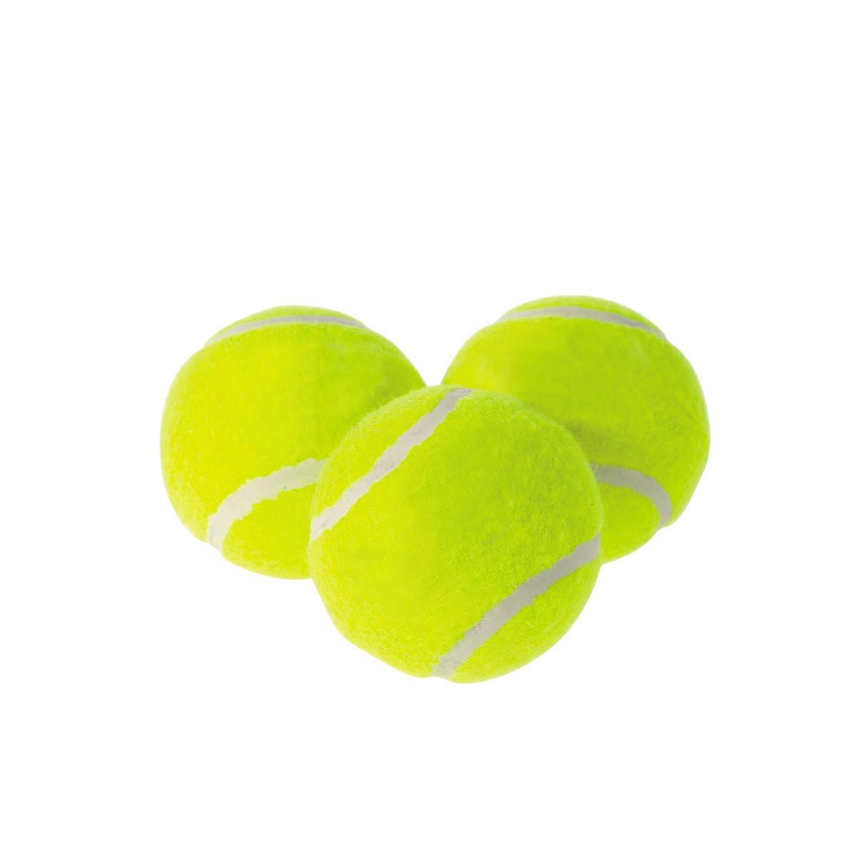 3 tennisbollar