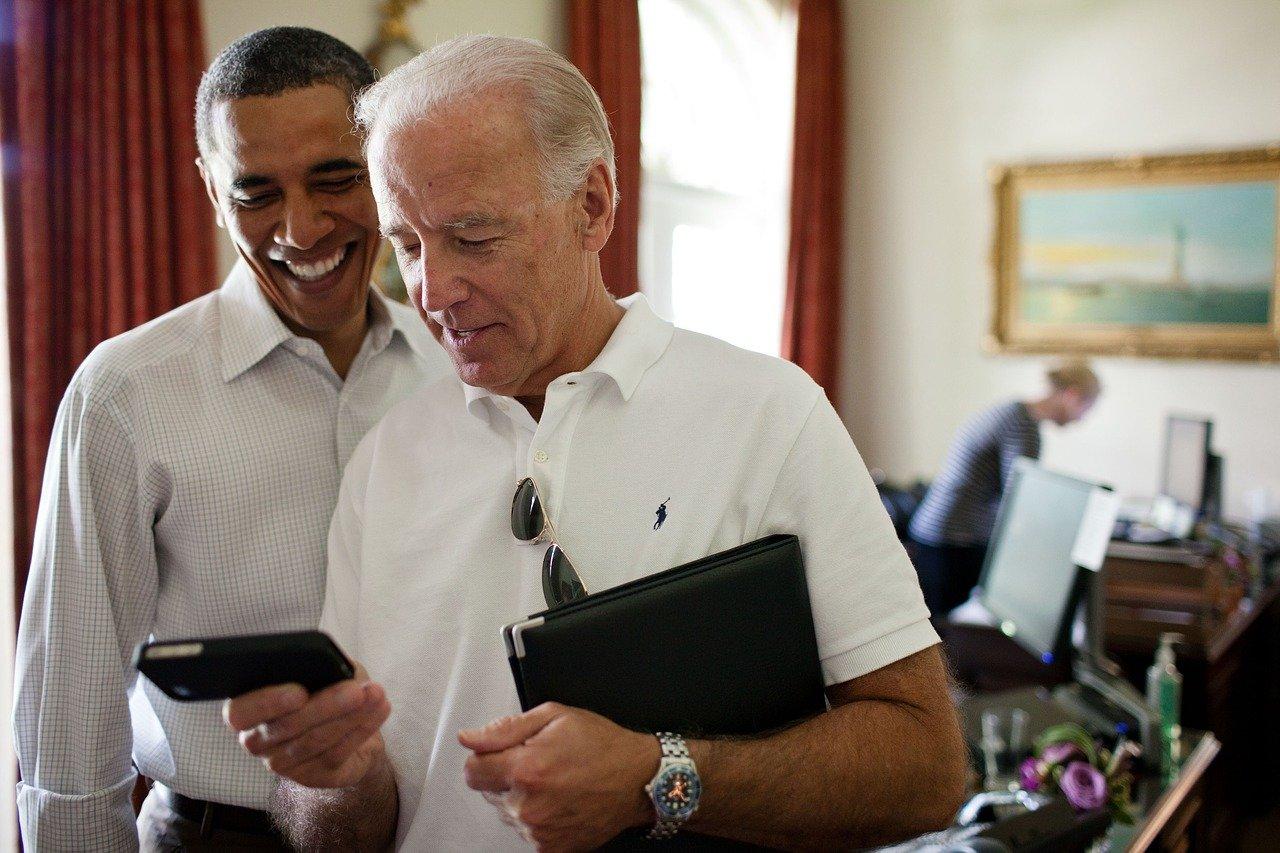 Barrack Obama a Joe Biden